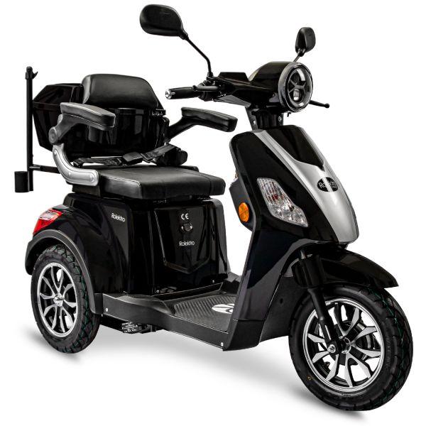 Rolektro, E-Trike 25 V.2, Rot, 60V-20Ah Bleigel Akkus, 1000 Watt