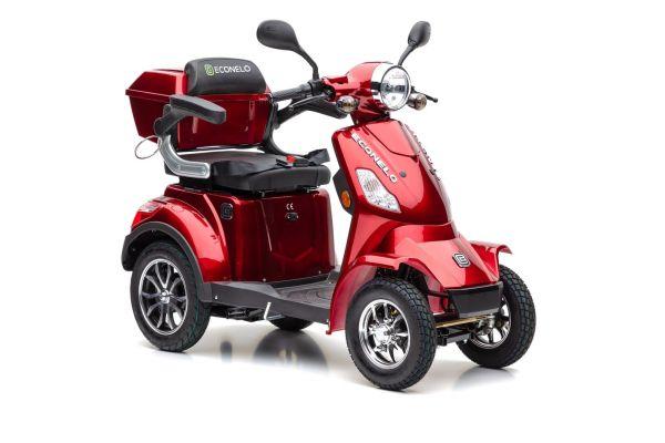 Econelo J 4000 Blei Gel Akku in Rot oder Braun Lieferung frei Haus